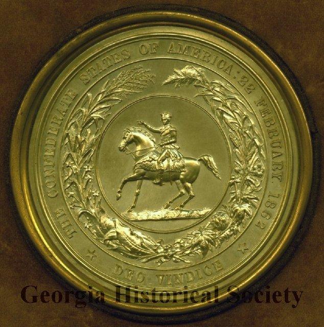 Confederate Seal reproduced in 1873