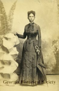 Photograph of either Mathilda or Josephine Beasley