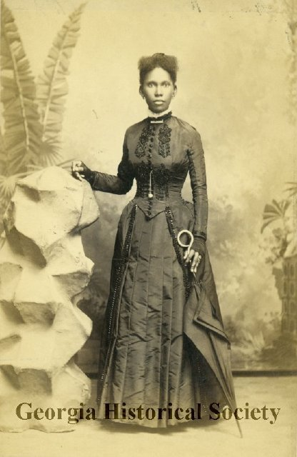 Photograph of either Mathilda or Josephine Beasley