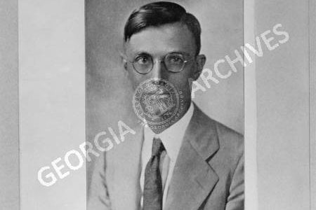 Political poster of Eugene Talmadge as 1926 Democratic candidate for Georgia's Commissioner of Agriculture, 1926