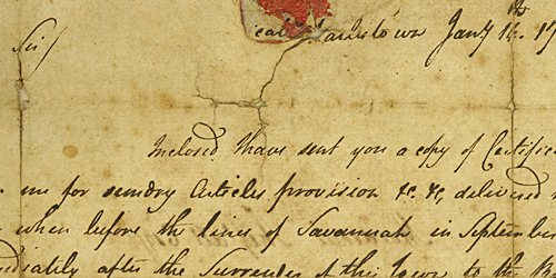 Abigail Minis Petition for Certificates, January 14, 1780
