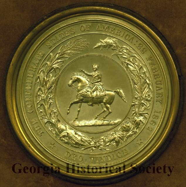 Confederate Seal reproduced in 1873