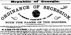 Georgia Ordinance of Secession