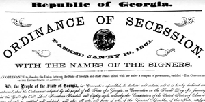 Ordinance of Secession 1861